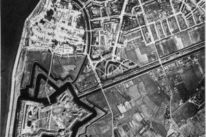 Opname van Den Helder in 1944